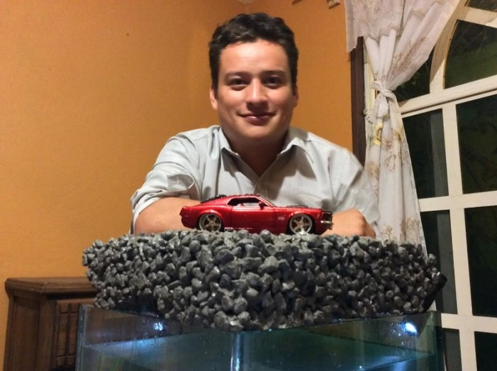 Estudiante michoacano inventó asfalto anti inundaciones