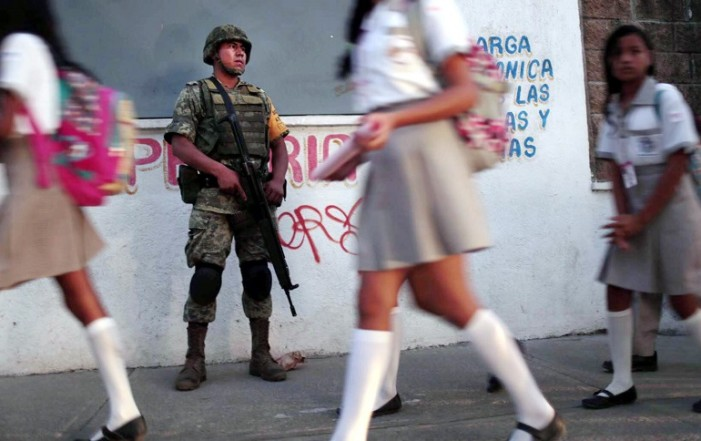 Debido a la inseguridad cierran escuelas en Sinaloa