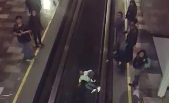 Hombre cae a las vías del Metro Chabacano