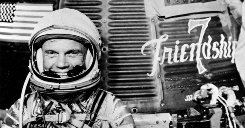muere John Glenn primer astronauta de EU en orbitar la Tierra