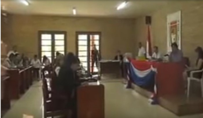 Era un edil de Paraguay y no Evo Morales quien cayó en broma de gemidos