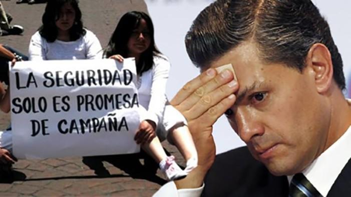 El 2017 será el año más violento del sexenio de Peña Nieto: Semáforo Delictivo
