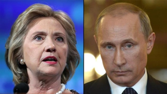 Clinton culpa personalmente a Putin del presunto 'hackeo': NYT