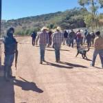 Minera canadiense desaloja con armas a extrabajadores y habitantes de Chalchihuites