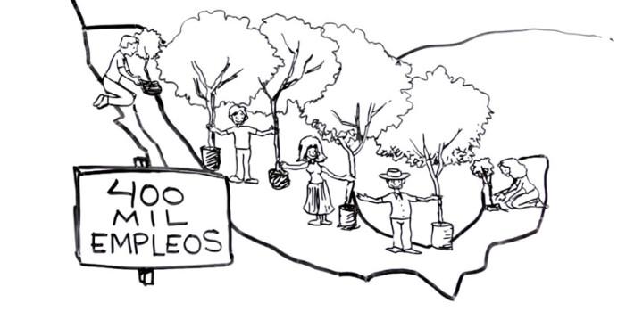 AMLO presenta 'Ideas del Cambio' sobre reforestación
