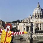 Abre McDonald's en edificio del Vaticano, provoca molestia