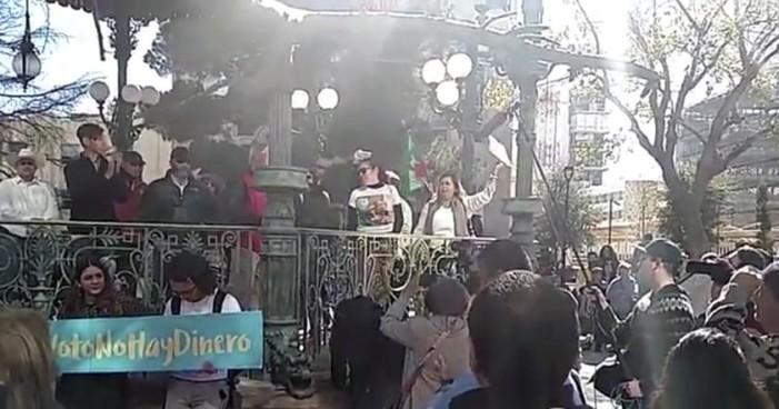 Cierran Congreso de Chihuahua en protesta por gasolinazo