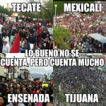 Baja California retumbó con gigantesca marcha contra gasolinazo y privatización del agua