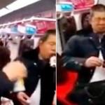 Graban suicidio colectivo en el metro de Pekín (video)
