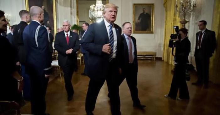 Donald Trump no irá a cena con periodistas de la Casa Blanca