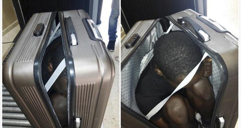 Turista es detenida al llevar a un joven en maleta a España