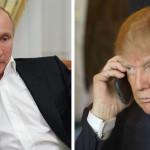 Putin y Trump conversan por primera vez, acuerdan acabar con EI