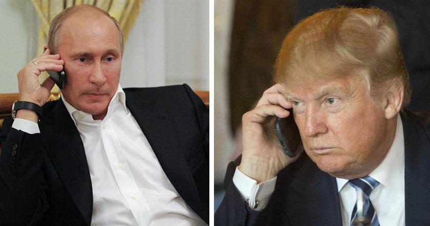 Vladimir Putin Donald Trump conversan via telefónica acuerdan acabar con Estado Islámico