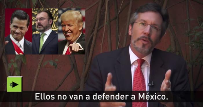 Donald Trump amenaza con invadir a México: John M. Ackerman