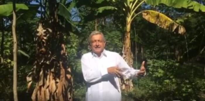 AMLO llama a firmar documento 'por la unidad y el renacimiento de México' (video)