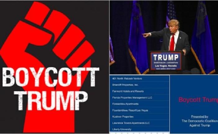 Lanzan app para boicotear las empresas Trump
