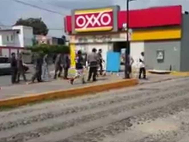 Ciudadanos detienen en Chiapas a saqueadores (video)