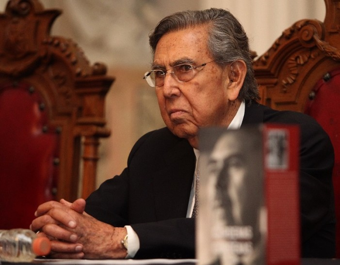 Alianza PAN-PRD es 'contradictoria': Cuauhtémoc Cárdenas