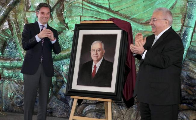 Nuño rinde homenaje Emilio Chuayffet, 'autor de la reforma educativa'