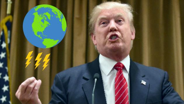 Referencias sobre el cambio climático fueron borradas de la página de la Casa Blanca