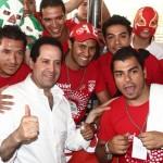 Acusan a 'Marea roja' del PRI de dirigir los saqueos en EdoMex