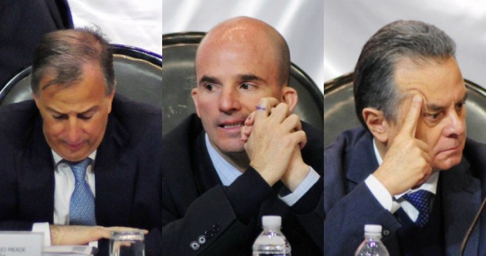 Meade, Coldwell y González Anaya comparecieron en el Congreso, sin decir nada nuevo