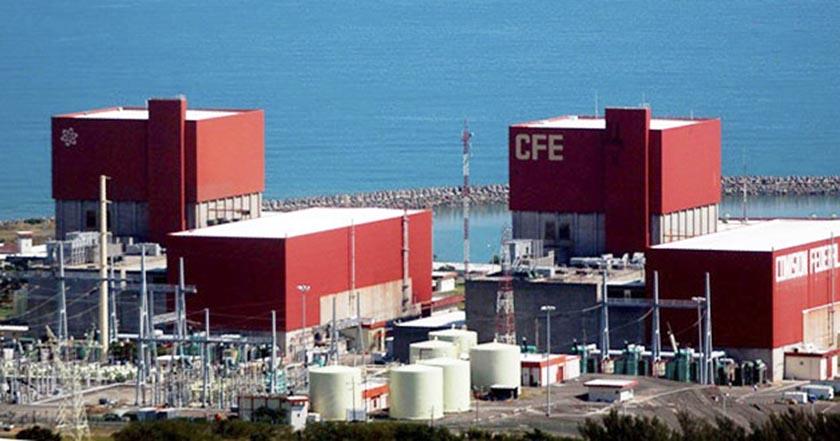 laguna verde cfe Planta nuclear veracruzana está despidiendo emisiones mortales