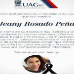 Asesinan a catedrática de la UAG, a esposo e hijo de 13 años