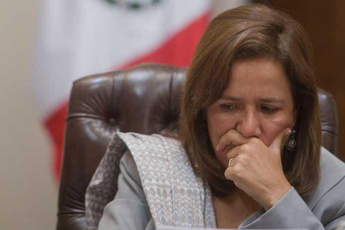 Margarita admite que AMLO es un candidato fuerte