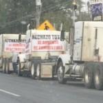 Transportistas de Monterrey se suman a protestas por gasolinazo