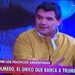 'Trump argentino', diputado propone construir muro con Bolivia
