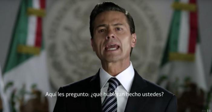 Peña Nieto, el león herido