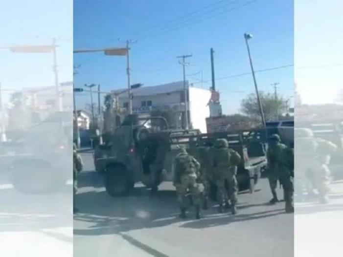 Enfrentamiento entre sicarios y militares implica hasta metralletas en Tamaulipas (VIDEO)