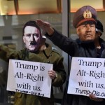 Manifestantes intentan bloquear acceso a investidura de Trump
