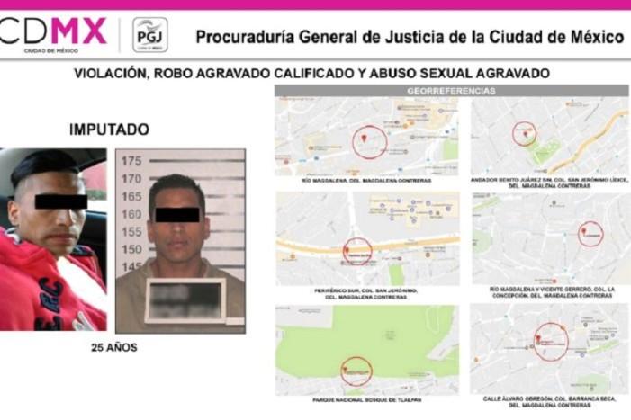 Dan prisión al 'violador del Bosque de Tlalpan'