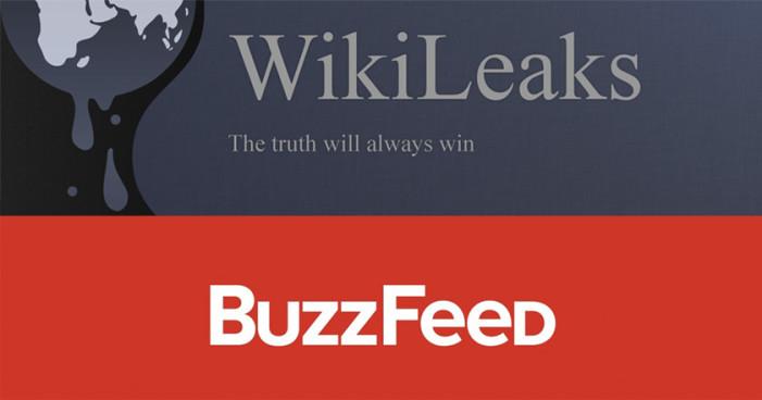WikiLeaks: 'no ratificamos información de Buzzfeed; es falsa'