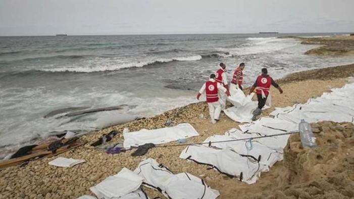 74 cadáveres de migrantes son hallados en playas de Libia