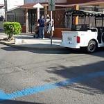 Autoridades de Mazatlán señalan territorio del narco con línea azul