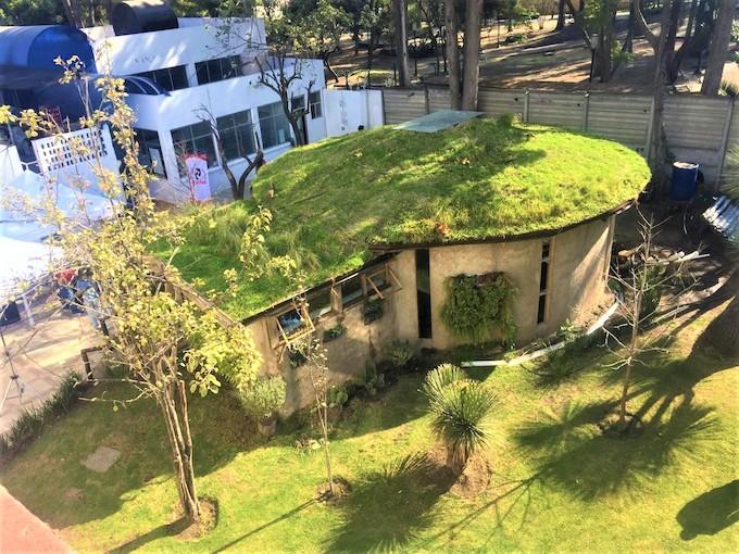 Casa sustentable para pobres presenta delegación Tlalpan