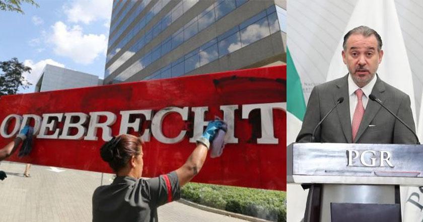 PGR colaborará en investigación internacional del caso Odebrecht
