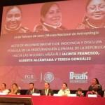 Tras años de impunidad PGR se disculpa con indígenas que acusó y condenó por un delito fabricado