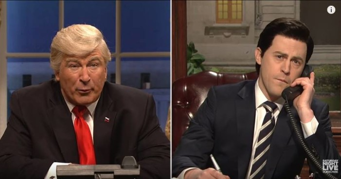 Parodian a Peña Nieto en Saturday Night Live