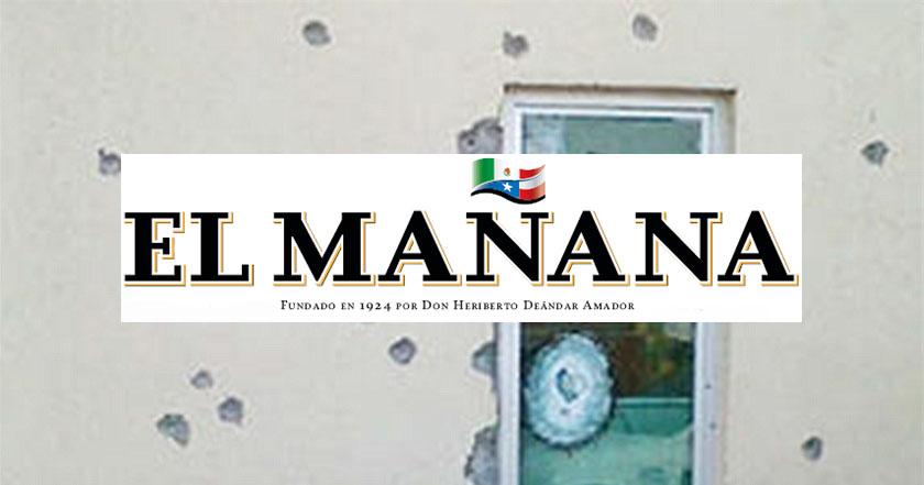 Periódico local de Tamaulipas el mañana de nuevo laredo suspende publicación por crimen organizado 2