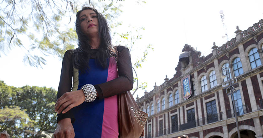 Sharon Guzmán Cañedo, mujer transgénero dif Olga Tamayo