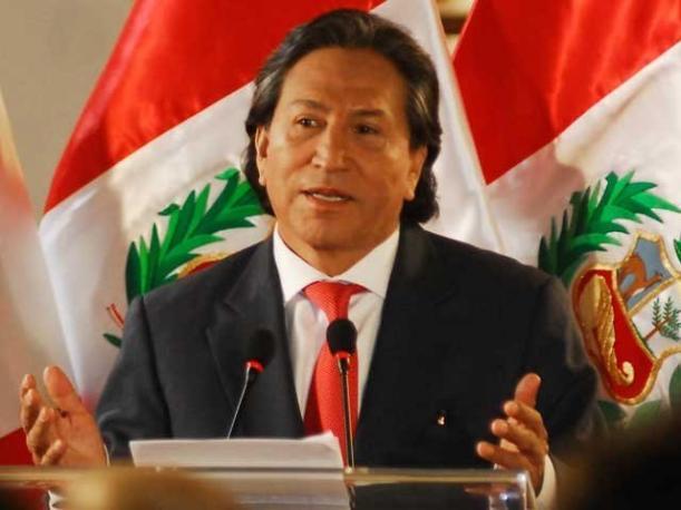 Ordenan detener al ex presidente de Perú Toledo por 'soborno'