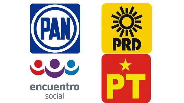 PAN-PRD-PT y PES concretan alianza en Nayarit