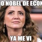 """Andrea Legarreta se enojó con """"fan"""" que le hizo comentario sobre el dólar (video)"""