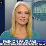 Asesora de Trump, aprovecha entrevista para promocionar productos de Ivanka Trump