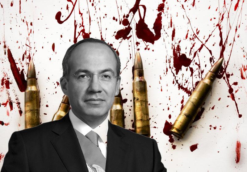 Resultado de imagen para muertos de Calderón