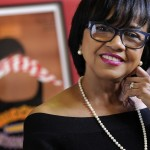 Cheryl Boone Isaacs, president of the Academy of Motion Picture Arts and Sciences, poses for a portrait on Wednesday, Feb. 19, 2014 in Los Angeles. (Photo by Chris Pizzello/Invision/AP)